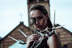 Martin Strauss Infuses Fashion Photography With Dark Beauty And Biomechanics