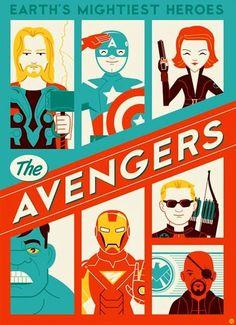 The Avengers  Alternative poster