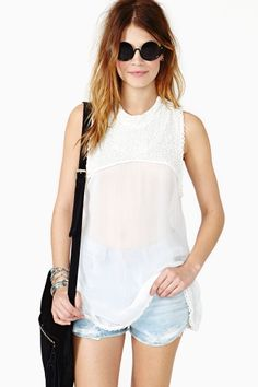 Temple Beaded Top