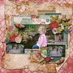Little Girl Flea Market Chic by Dana's Footprint Designs http://www.godigitalscrapbooking.com/shop/index.php?main_page=product_dnld_info&cPath=29_210&products_id=24840