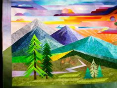 Mountains Quilt