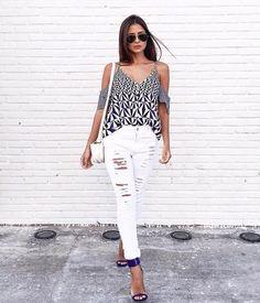 zpr A linda @viihrocha, com blusa estampa geométrica e calça skinny destroyed... look perfeito!!!😍💕😻❤📲 Whats: 011 99197-1828 💌 contato@samambaiastore.com.br. ✳ www. samambaiastore.com.br #samambaiastore #modams #shop #shoponline #mariliasimoes #trend #estilo #stylish #tendencia #musthave #style #moda #summer #summer17 #verao #ecommerce #compra#compraonline#comprar#compras#comprasegura#comprasonline#moda#moda2016#modablogueira#modabrasil#modacasual#modafashion#studio21