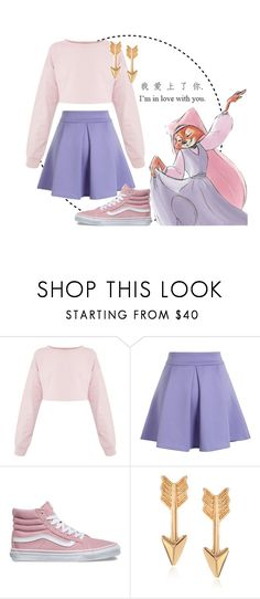 """""""Maid Marian Park Ready"""" by gabyqueeny ❤ liked on Polyvore featuring Chicwish, Vans, Journee Collection and xO Design"""
