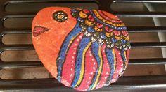 pintura en piedra