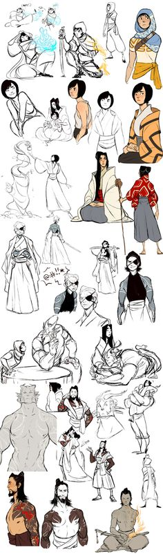 Extended Chiba Family by Chopstuff on DeviantArt Character Design Character Creation, Character Concept, Concept Art, Cartoon Kunst, Cartoon Art, Chiba, Animation, Illustration, Character Design References