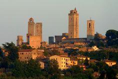 Summer sunset - San Gimignano, Tuscany