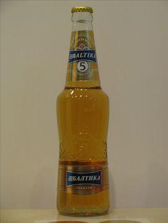 Baltika 5 golden lager