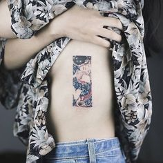 """Gustav Klimt - The Kiss by @soltattoo"