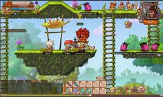 Rainbow Saga is a Free-to-play sidescrolling Action MMO Role-Playing Game [MMORPG] with an exciting world to explore