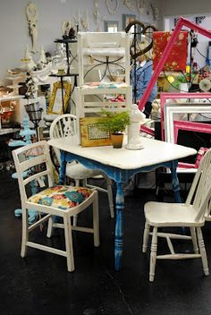 Some great tutorials and ideas for refinishing furniture.