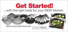 Kitchen Essentials Starter Kit- $49.49- Good Cook #AskGoodCook