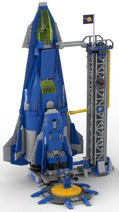 Bennyfication of set Overwatch 75975 75970 Lego Design, Legos, Lego Spaceship, Lego Astronaut, Overwatch, Lego Space Sets, Lego Ship, Lego Craft, Lego System