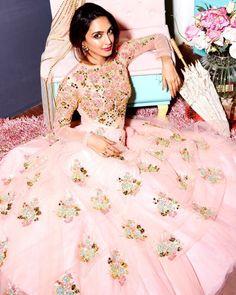 """azafashions: """"Being whisked away in a fairytale princess moment with Kiara Advani. Shop this look at Aza Bandra. #celebrityspotting #papadontpreach #kiaraadvani #style #trend #princess #azadesigners #azafashions #azabandra"""""""