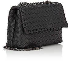 Bottega Veneta Intrecciato Olimpia Mini Shoulder Bag -  - Barneys.com