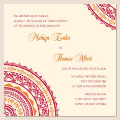 Wedding Invites Indian Wedding Gallery Wedding Invitations