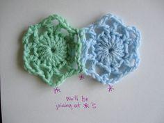 Join-As-You-Go Method for Crochet Motifs | Speckless Blog