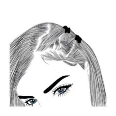 Tumblr Outline, Outline Art, Outline Drawings, Cute Drawings, Hipster Drawings, Tumblr Girl Drawing, Tumblr Sketches, Tumblr Art, Drawing Girls