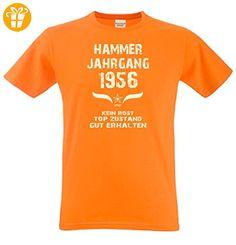 Geschenk zum 61. Geburtstag :-: Geschenkidee Herren Geburtstags T-Shirt mit  Jahreszahl