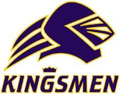 Kingsmen, California Lutheran University (Thousand Oaks, California) Div III, Southern California Intercollegiate Athletic Conference #Kingsmen #Thousand OaksCalifornia #NCAA (L9402)