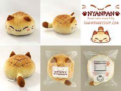 Nyanpan Cat Plush by celesse.deviantart.com on @DeviantArt