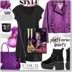 Casual by Yoins :: Platform Boots