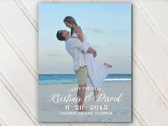 Wedding Save The Date Dates Photo Magnets by SAEdesignstudio