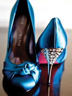 blue, shoes, wedding, bride, heels