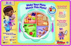 Teach your little one healthy eating with this printable from the #DocMobile!