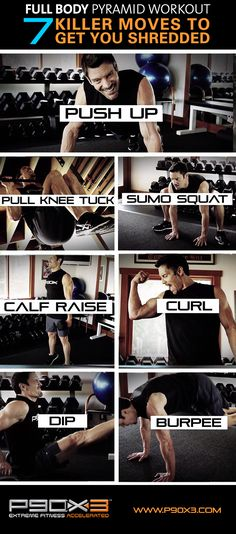 Push Ups, Pull Knee Tucks, Dips, Burpees... HOLY SMOKES KIDS, this workout might break you! JUST KIDDING..but it's sure to give you a full body workout! #workout #motivation #fitspo #fitspiration #lift #weightlifting #exercise #workoutvideo #video