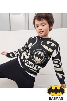 Buy Charcoal Batman® All Over Print Top (3-14yrs) online today at Next: Australia
