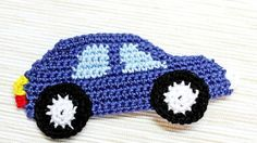How To Make A Crocheted Car Applique - DIY Crafts Tutorial - Guidecentral:
