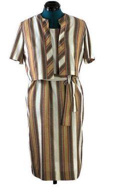f9e5feedc8bbf 1960 Vintage Lane Bryant Dress with Jacket Bolero Jacket