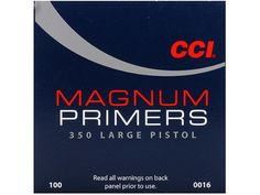 CCI Primers are continuously tested and improved. As a result today's CCI primers are more sensitive, easier to seat and more compatible with. Reloading Equipment, Bolt Action Rifle, Primers, Primer, Paint Primer
