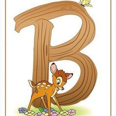"Disney Alphabet Printables | Printables | Spoonful ""B"""