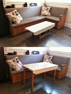 Convertible Coffee Table Is Perfect For Cramped Apartments See More Exciting News At The Caboose A K A Pint Sized House We Have A