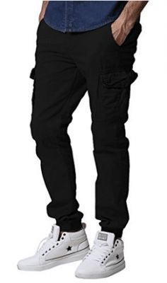 Match Men's Regular Fit Chino Jogger Cargo Hiking Pants x 6539 Green Best Joggers, Chino Joggers, Mens Jogger Pants, Cargo Pants Men, Gym Pants, Black Joggers, Sweatpants Style, Parka Style, Mens Cargo