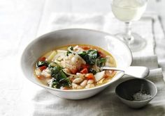 Chard White Bean and Potato Soup