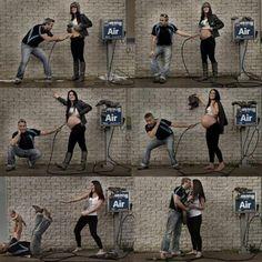 En garip hamilelik fotoğrafları