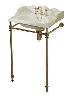 Thomas Crapper & Co Ltd Washbasin Stand Small Bathroom Sinks, Bathrooms, Thomas Crapper, British Bathroom, Small Toilet, Vanity Bench, Plumbing, Basin, Home Improvement