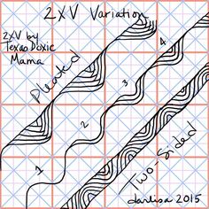 Variation of the 2XV pattern by TexasDoxieMama. Read full post here -…