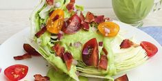 Consider this a no-carb BLT, only instead of mayo you get a creamy avocado dressing.