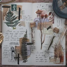 20 Pieces of Botanical PET Sticker Series - Planner, Journal, Craft, Scrapbooking, Decoration - art - Art Journal Pages, Album Journal, Scrapbook Journal, Bullet Journal Ideas Pages, Bullet Journal Inspiration, Diy Scrapbook, Art Journals, Planner Journal, Journal Challenge
