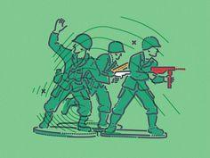 Proper heroes by James Oconnell #Design Popular #Dribbble #shots