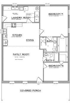 FAV: Find fantastic deals on your next barndominium or metal building here. Serving South and Central Texas, New Braunfels, Seguin, San Antonio, San Marcos Small House Floor Plans, Cabin Floor Plans, Barn House Plans, Bedroom House Plans, Bungalow Floor Plans, Metal Shop Building, Building A House, Building Ideas, Barndominium Floor Plans
