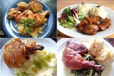 Ako upiecť kuracie stehná jednoducho, rýchlo aj nezvyčajne, Varíme, pečieme, zavárame - Diskusie | Naničmama.sk Tandoori Chicken, Meat, Ethnic Recipes, Food, Essen, Meals, Yemek, Eten