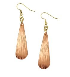 Chased Copper Long Tear Drop Earrings By John S Brana Handmade Jewelry Durable Copper Earrings *** To view further for this item, visit the image link. (This is an affiliate link and I receive a commission for the sales) Copper Earrings, Copper Jewelry, Teardrop Earrings, Dangle Earrings, Handmade Copper, Handmade Jewelry, Copper Gifts For Her, Black Gift Boxes, 14 Karat Gold