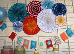 BoBunny Boardwalk Party Line! Decorate your next event with BoBunny style!