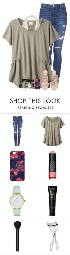 """""""my dance squad is the best<3"""" by theblonde07 ❤ liked on Polyvore featuring Topshop, EAST, Casetify, Smashbox, Kate Spade, NARS Cosmetics, BBrowBar and Jack Rogers"""