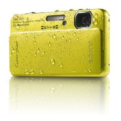 Sony Cyber-Shot DSC-TX10 16.2 MP Waterproof Digital Still Camera with Exmor R CMOS Sensor, 3D Sweep Panorama, and Full HD 1080/60i Video (Green)  bySony  4.0 out of 5 starsSee all reviews(305 customer reviews) | Like (47)  There is a newer model of this item. See details below, or go to the newer item.  List Price:$309.00  Price:$299.99