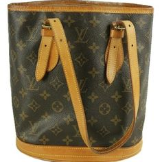 """""""Monogram Bucket Pm Marais  BG-#2960935"""" Signs of wear with discoloration on leather. Peeling on interior. See photos. JY Louis Vuitton Bags Totes"""
